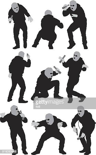 Thief in various actions