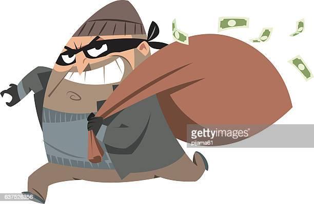 illustrations, cliparts, dessins animés et icônes de voleur  - voleur
