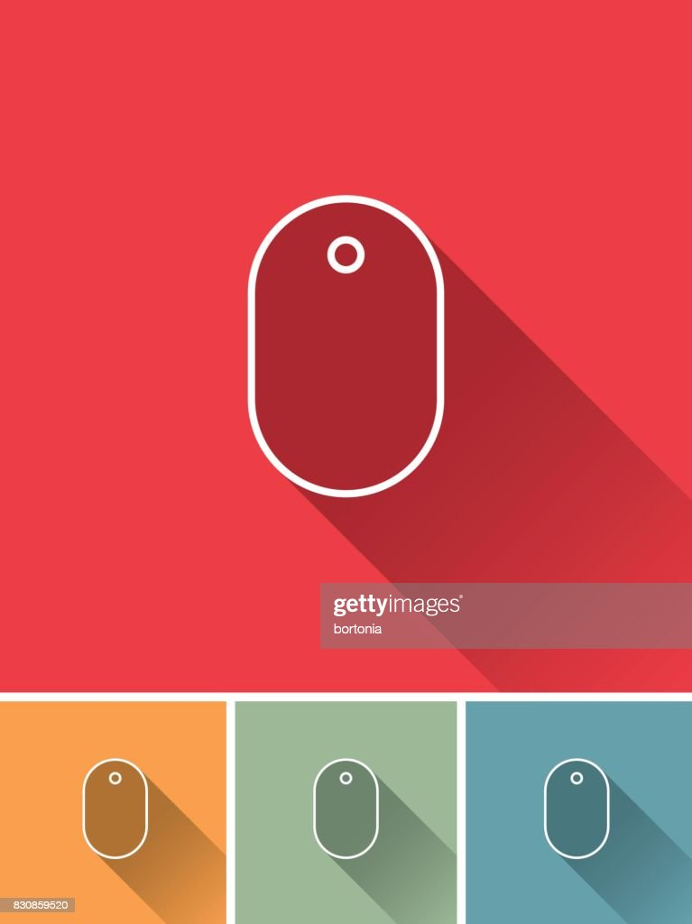 Thin Line Graphic Designer Icons Wireless Mouse Vector Art | Getty ...