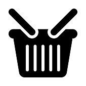 BASKET thin line vector icon