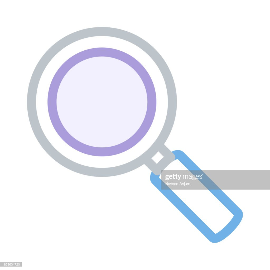 SEARCH thin line vector icon