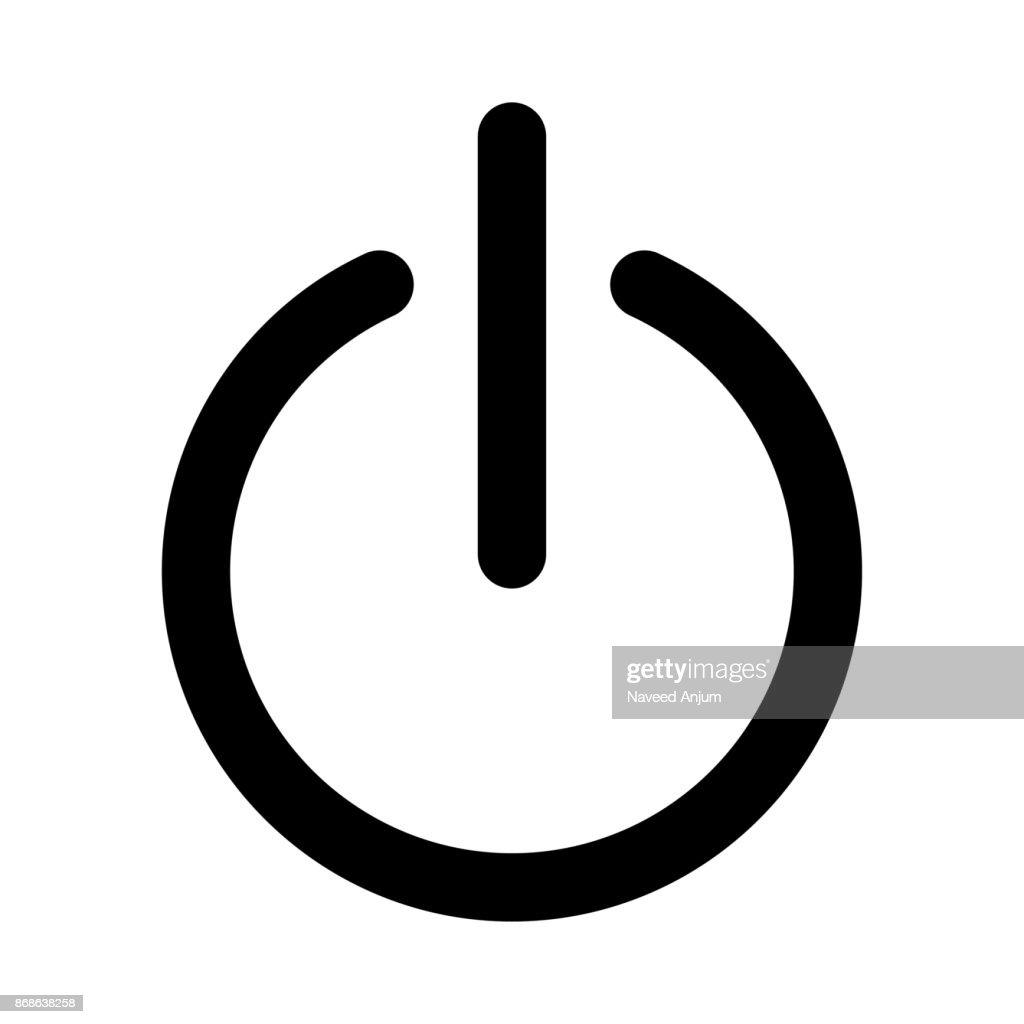 RESTART thin line vector icon