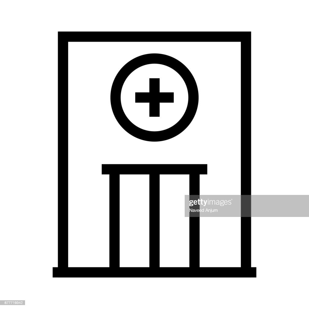 Medical Store Thin Line Vector Icon Vector Art Getty Images