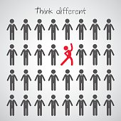 Think different symbol