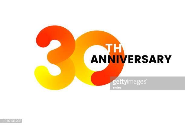 30周年記念 - 30周年点のイラスト素材/クリップアート素材/マンガ素材/アイコン素材