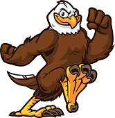 This Eagle is running to sucess