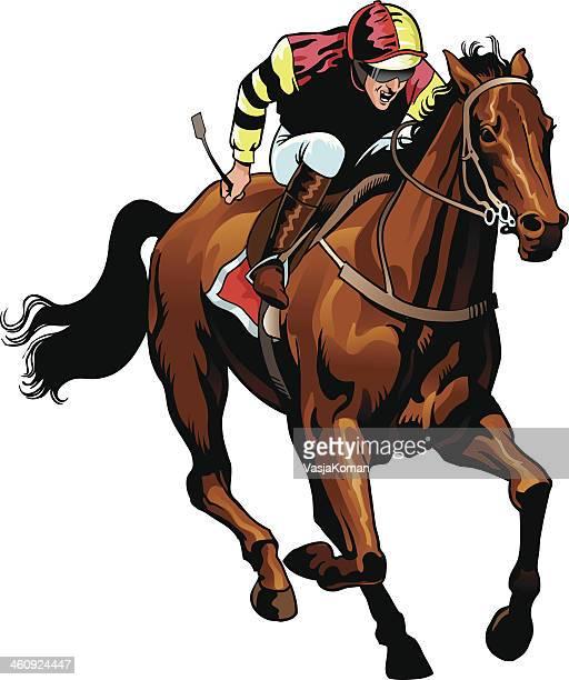 Corrida de Cavalo puro sangue