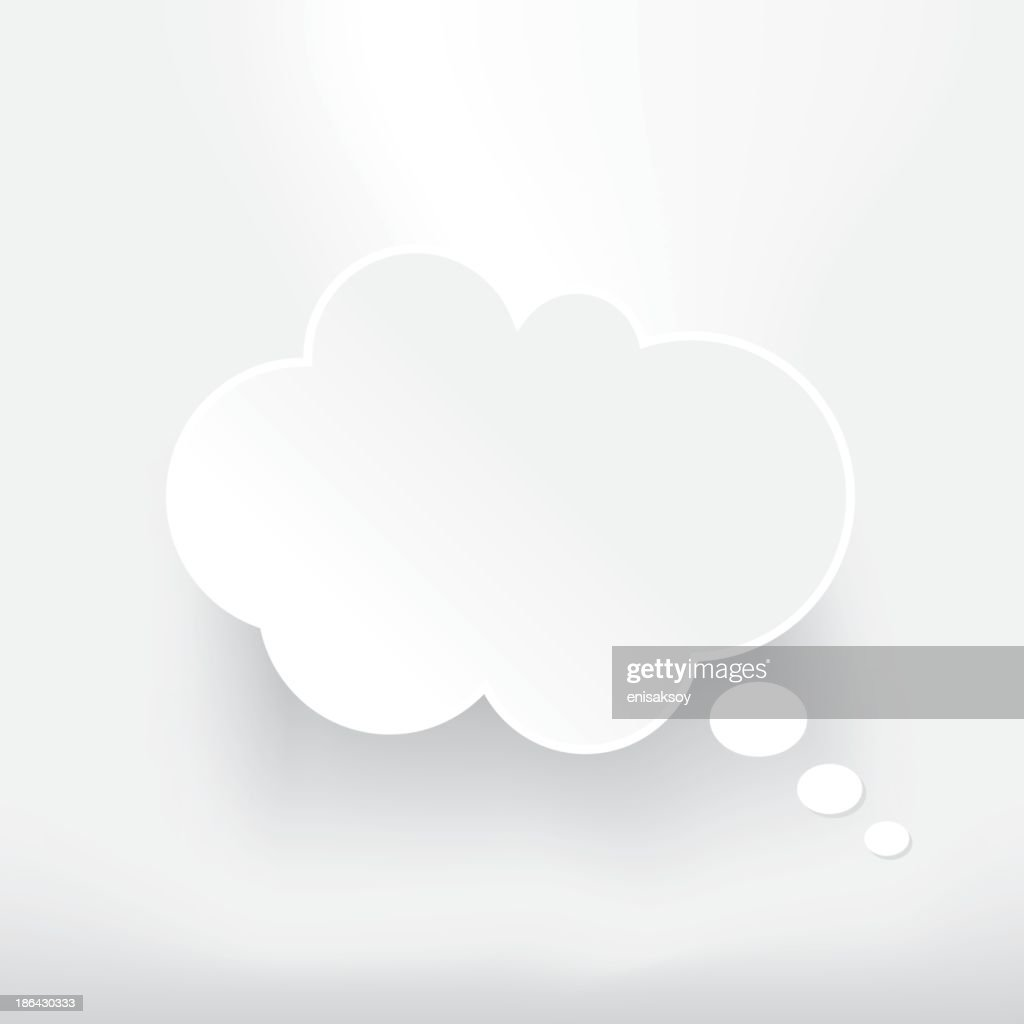 Thought Bubble : stock illustration