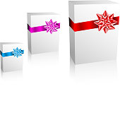 Thre Christmas / Valentine / Birthday Gift boxes