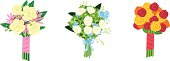 Three Bouquets