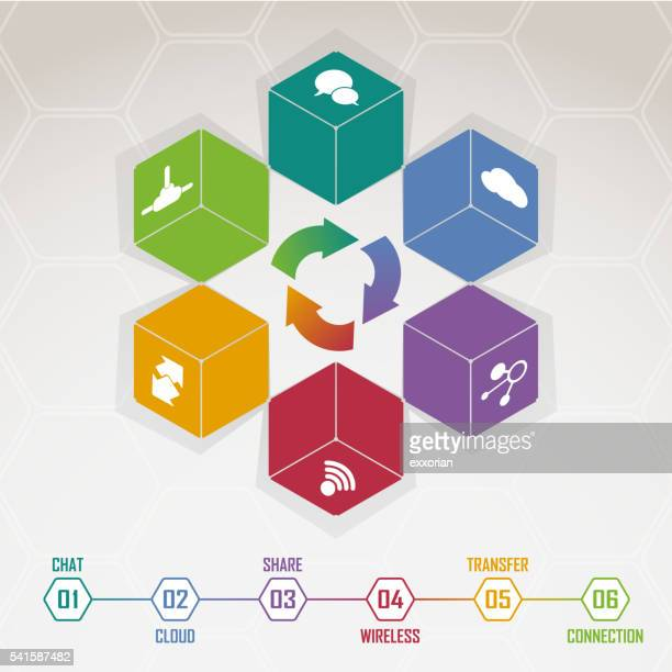 three dimensional block - finanzen und wirtschaft stock illustrations