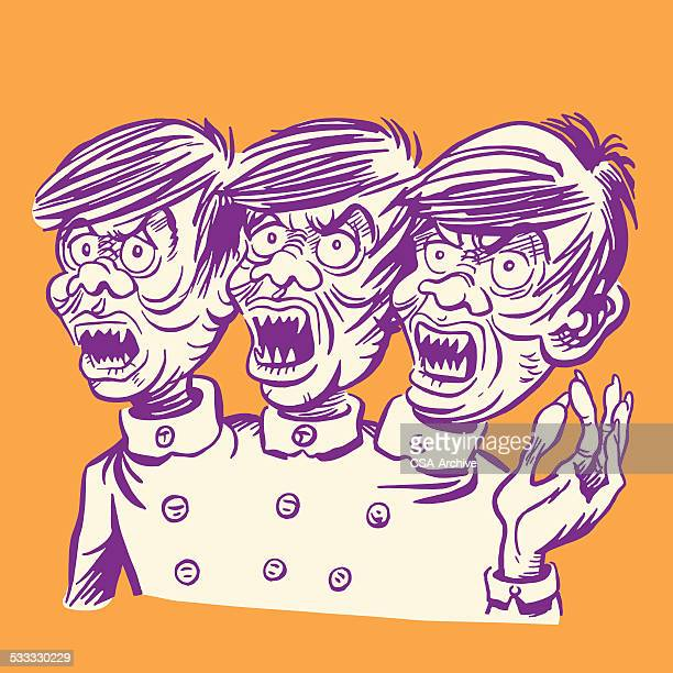 Three Headed Monster