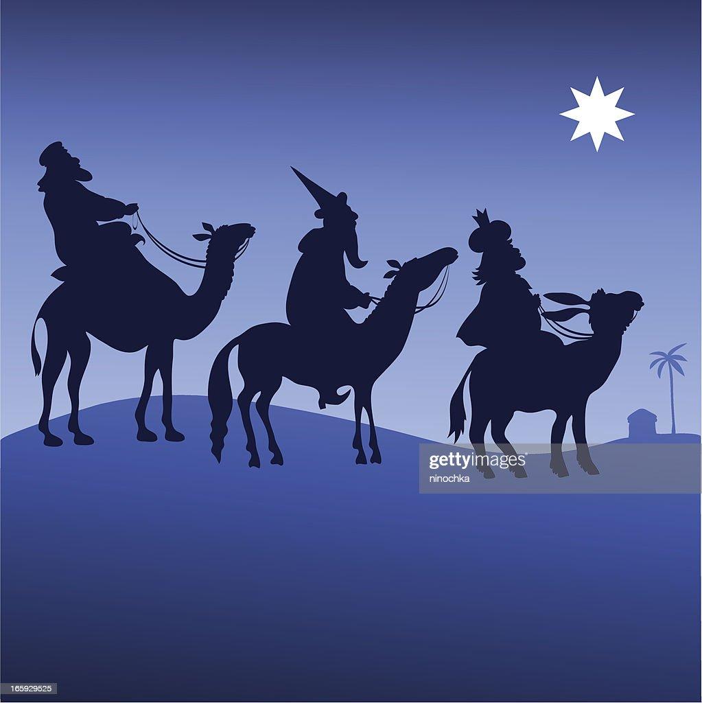 Three kings : stock illustration