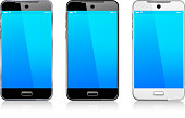Three Phone Cell Smart Mobile