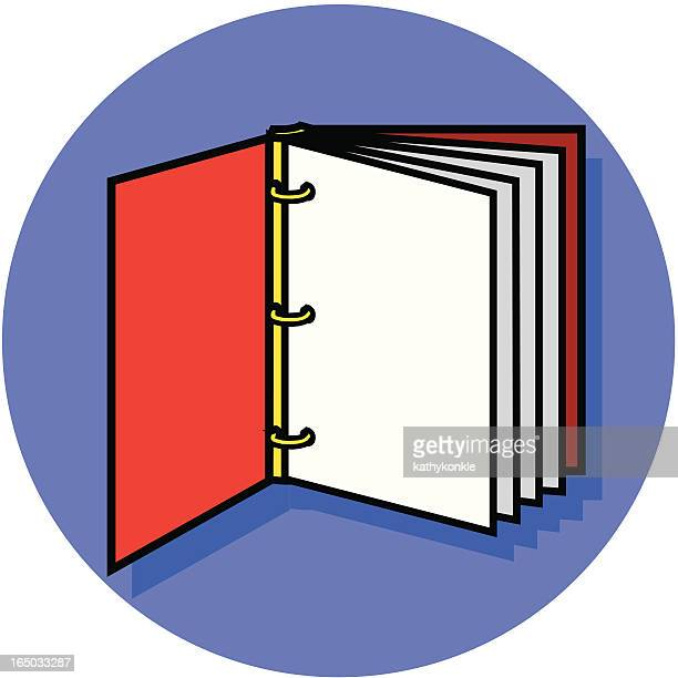 three ring notebook icon