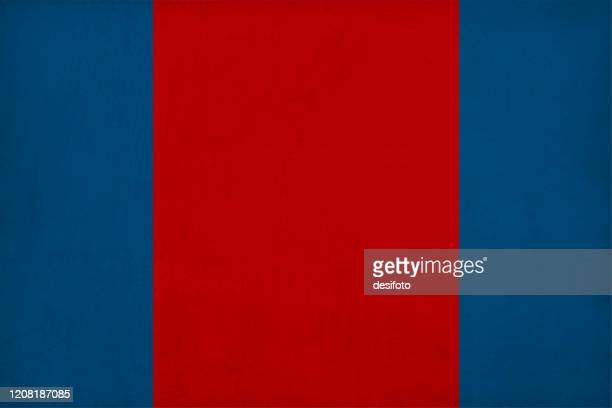 three vertical stripes in two contrasting colours of dark blue and bright red maroon color grunge background - maroon stock illustrations