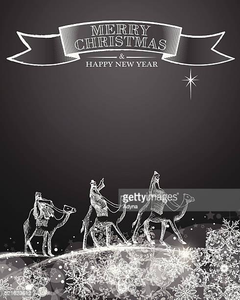 ilustraciones, imágenes clip art, dibujos animados e iconos de stock de los tres reyes magos - los tres reyes magos