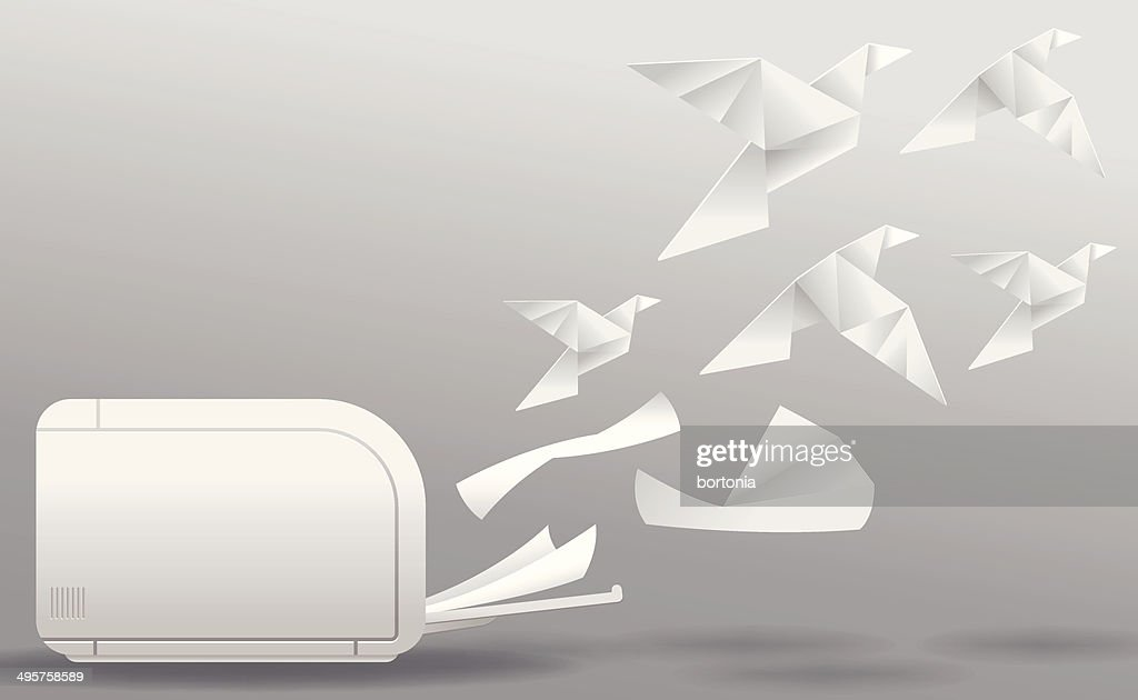 Three-Dimensional Printing : stock vector