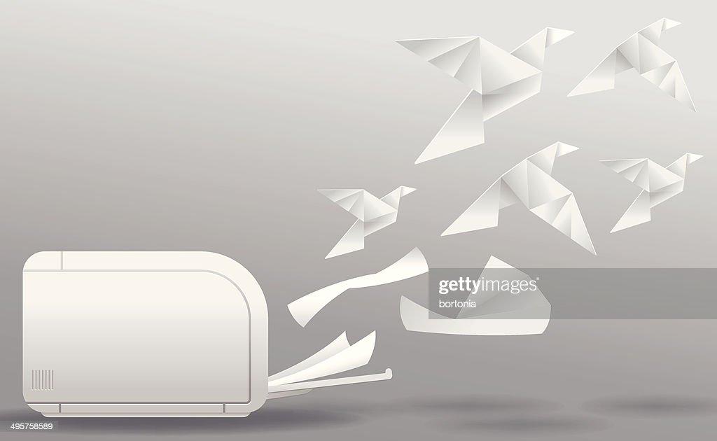 Dreidimensionale Drucken : Vektorgrafik