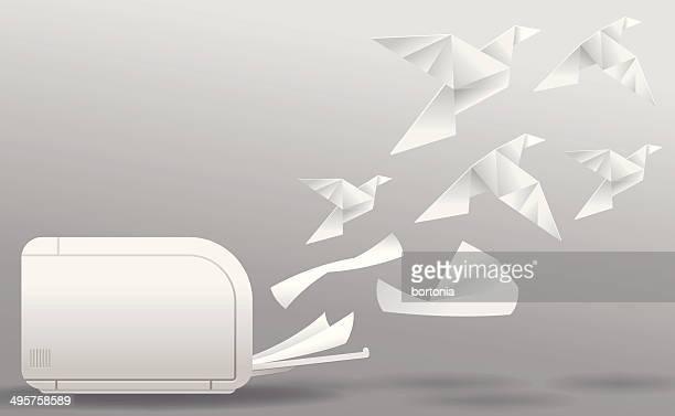three-dimensional printing - morphing stock illustrations