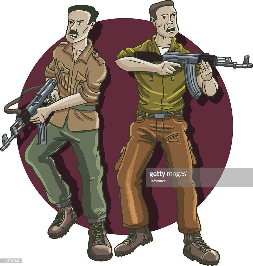 thug ataque : Ilustración de stock
