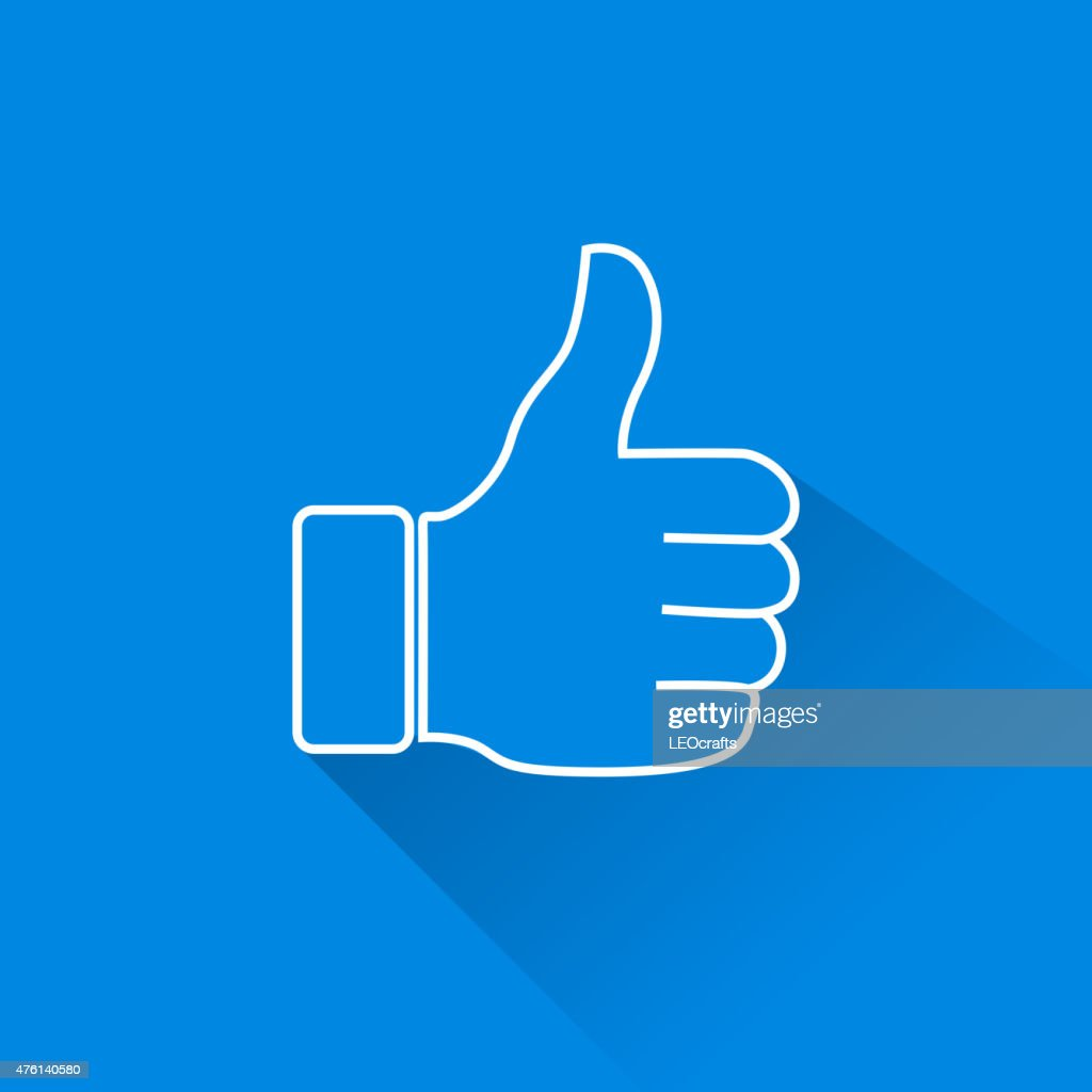 Thumb Up Icon : stock illustration