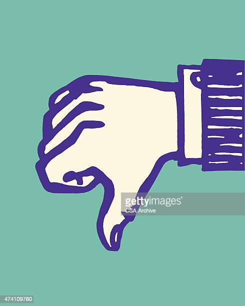 thumbs down - thumbs down stock illustrations