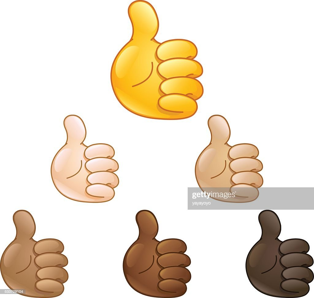 thumbs up hand emoji