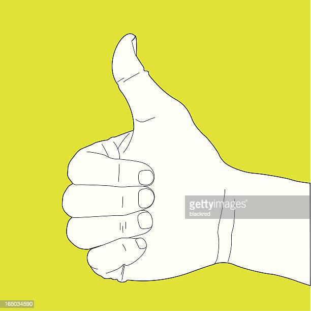 Thumbs Up Hand Gesture