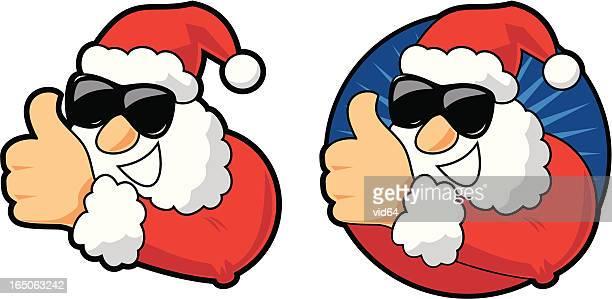 Thumbs Up Santa