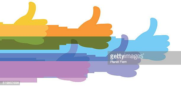 thumbs up - receiving stock illustrations, clip art, cartoons, & icons