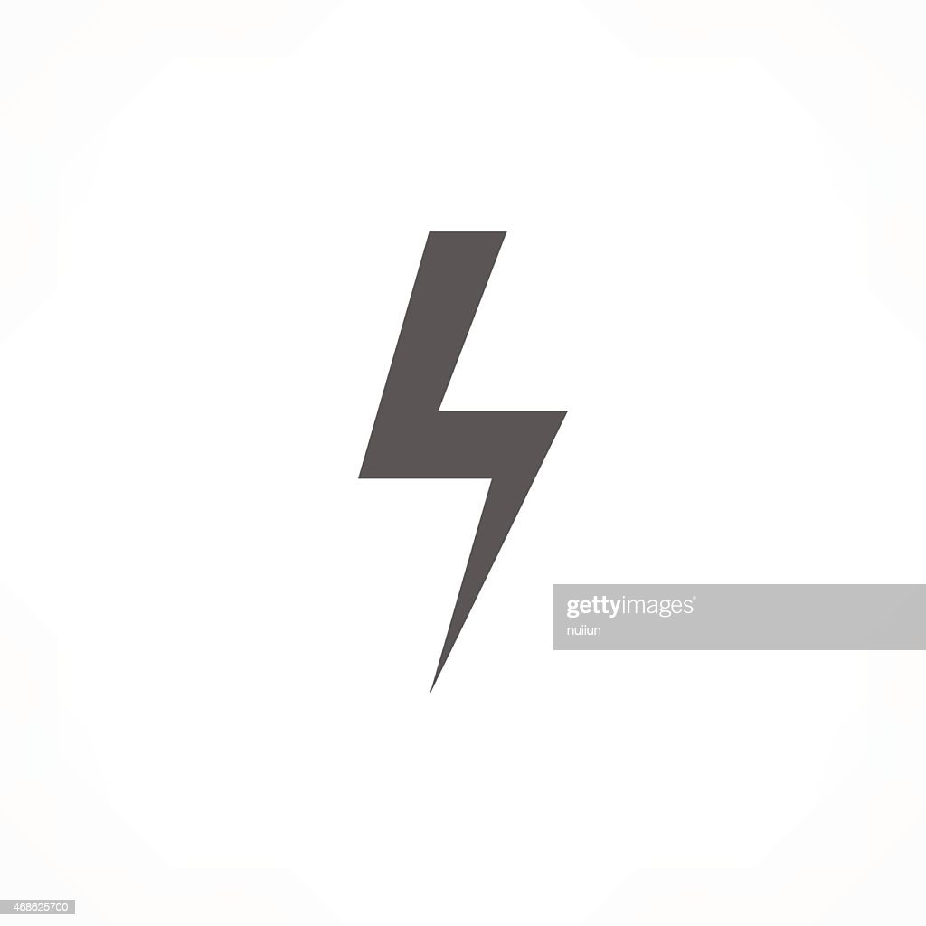 Thunder Icon Vector Art Getty Images