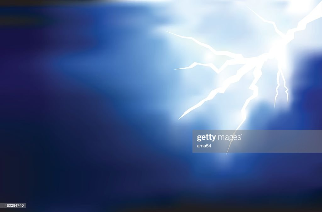 thunder lighting background on dark vector illustration high res vector graphic getty images 2