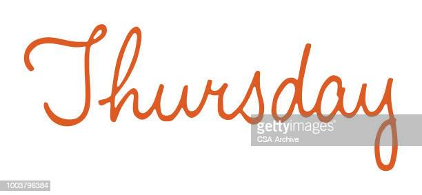 huge selection of 08811 ba892 World's Best Thursday Stock Illustrations - Getty Images