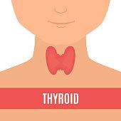 Thyroid gland in men