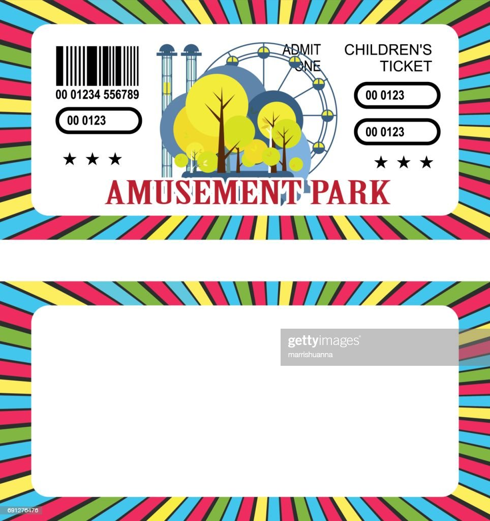 Ticket amusement park