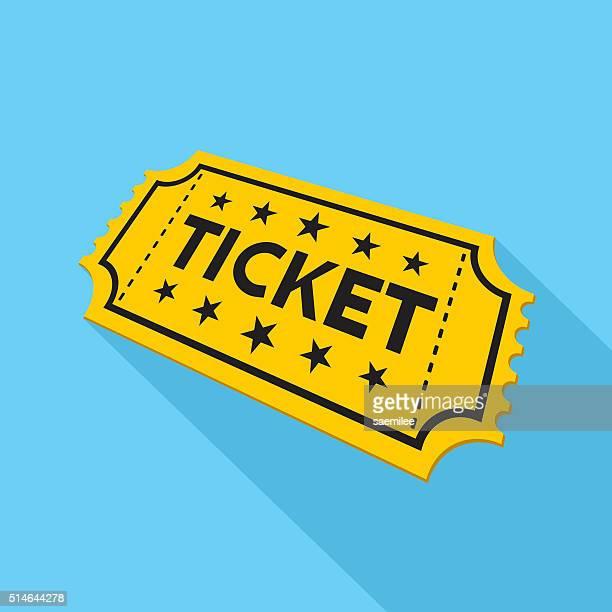 ticket icon - ticket stock illustrations, clip art, cartoons, & icons