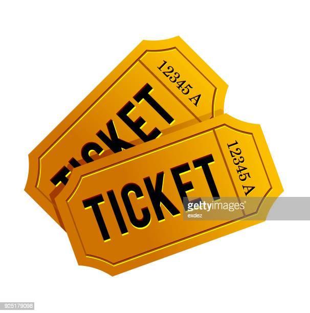ticket icon - raffle stock illustrations
