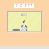 ticket window