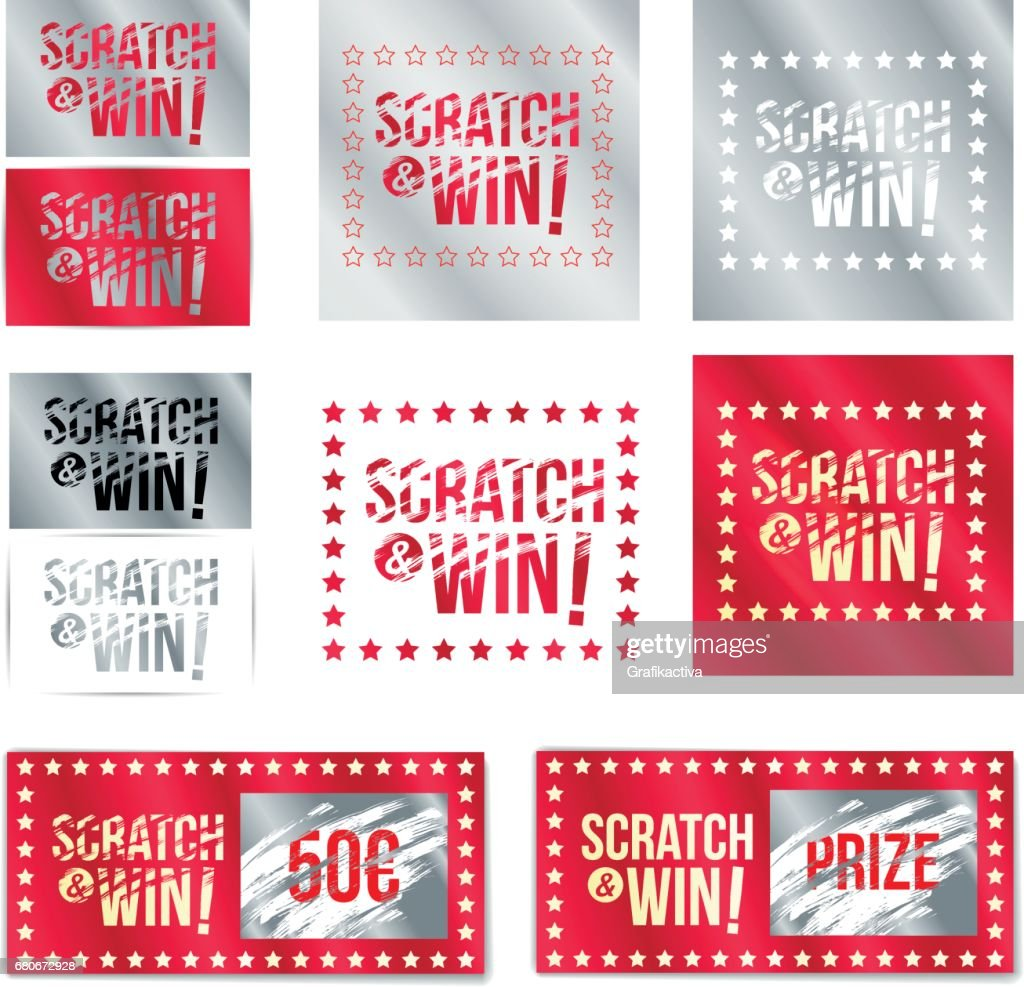 Tickets scratch and win.