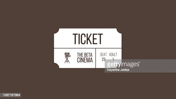 tickets, show vector - entrance sign stock illustrations