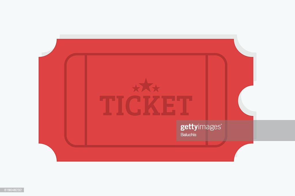 Tickets vector icons