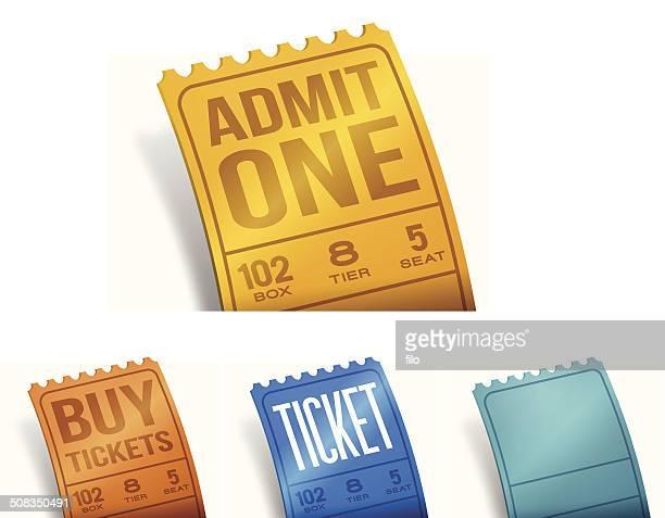 tickets - entrance stock illustrations, clip art, cartoons, & icons