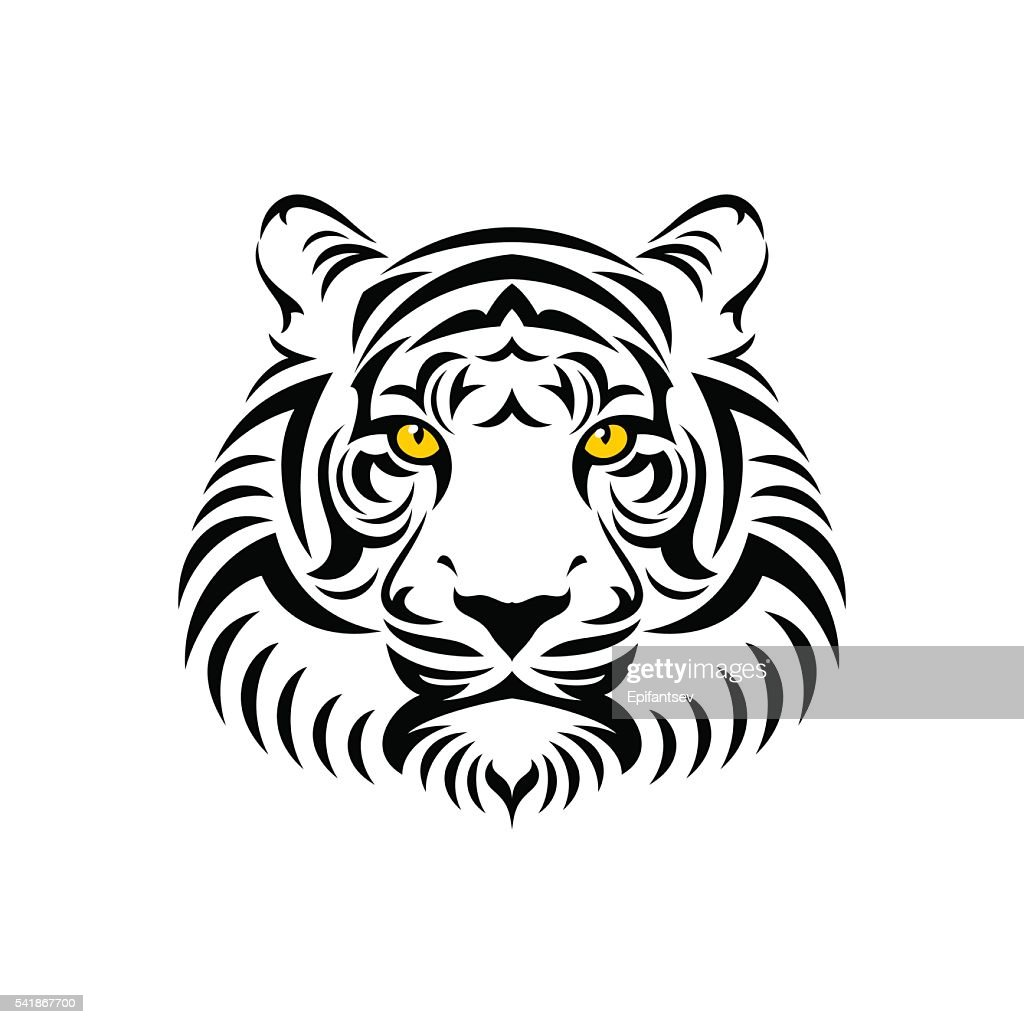 Tiger head sign