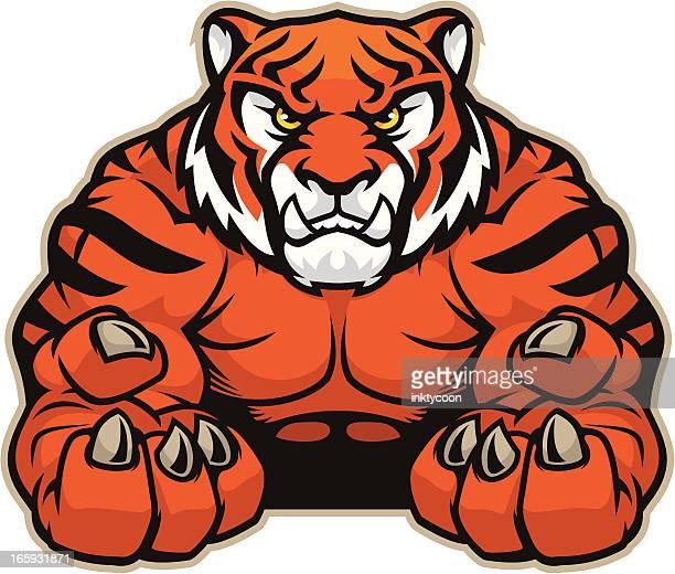 Tiger Mascot Grip