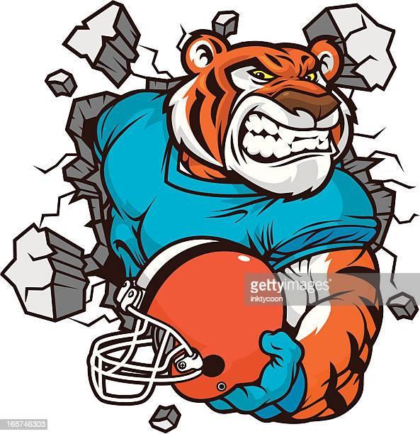 Tiger Mascot Smash