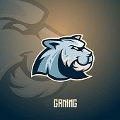 tiger mascot sport and gaming