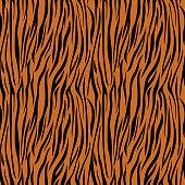 Tiger Print Seamless Pattern