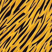 Tiger skin seamless pattern.