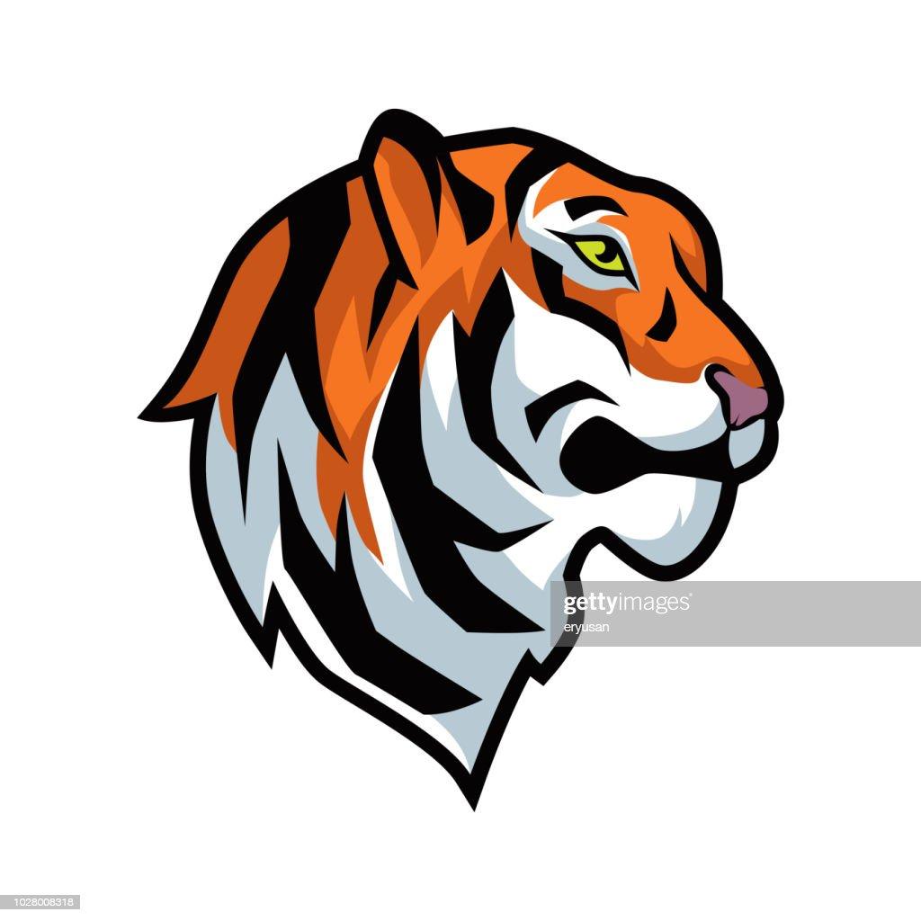 tiger vector graphic illustration